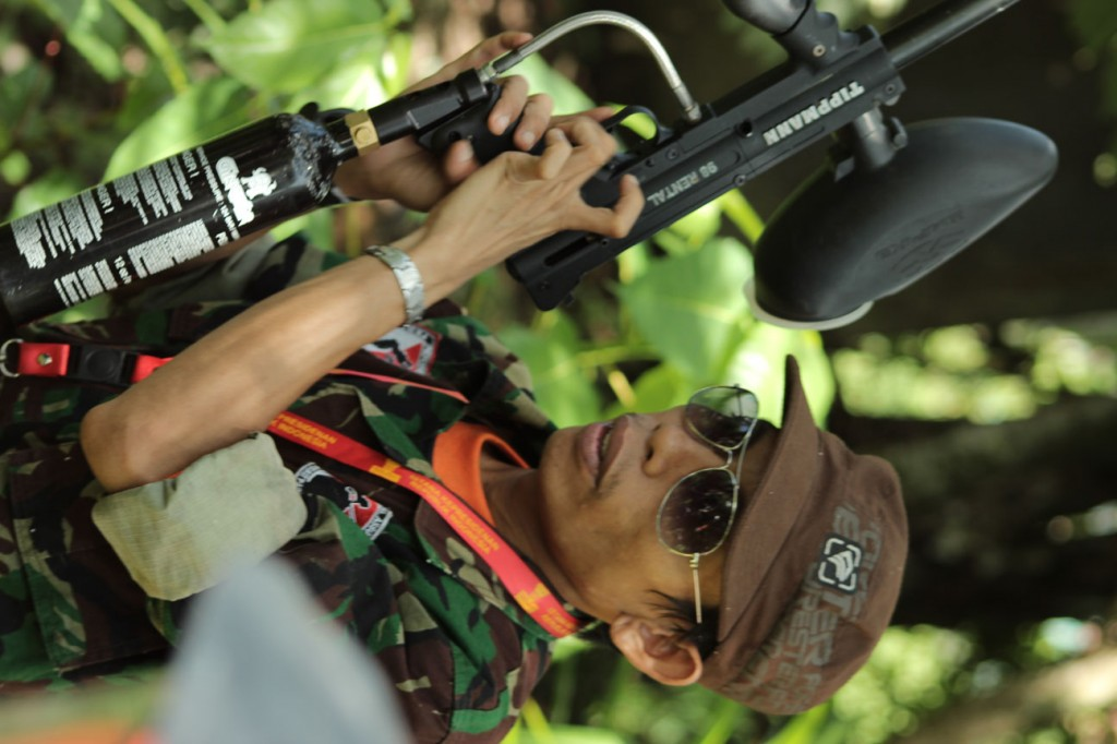 Outbound Paint Ball Arena Mataram Lombok | Studio Alam TV9